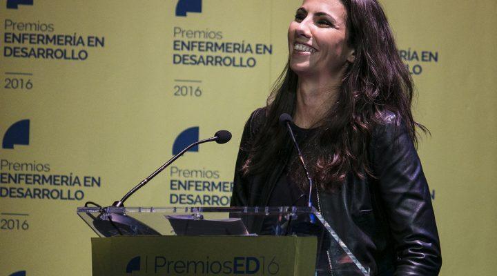 Ana Pastor, en los Premios ED