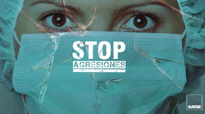 Stop agresiones a los profesionales de la Sanidad