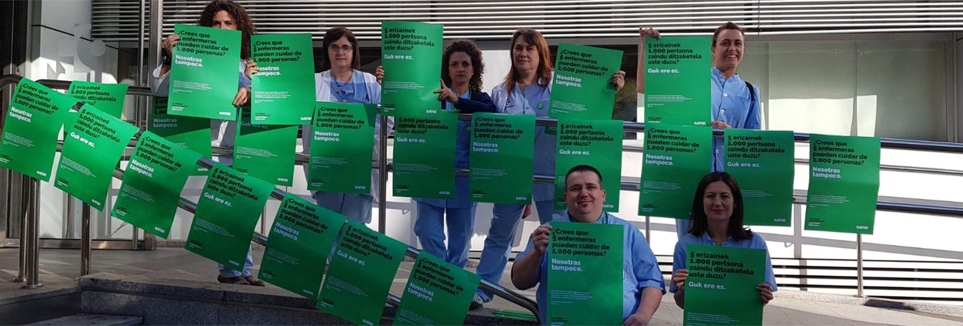 Más enfermeras por ley