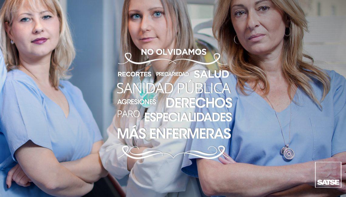 Reivindicaciones de enfermeras y fisioterapeutas