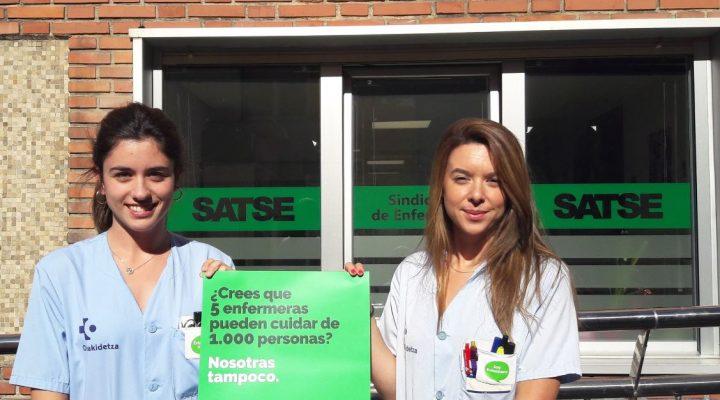 Unidas Podemos respalda la Ley de Seguridad del Paciente de SATSE