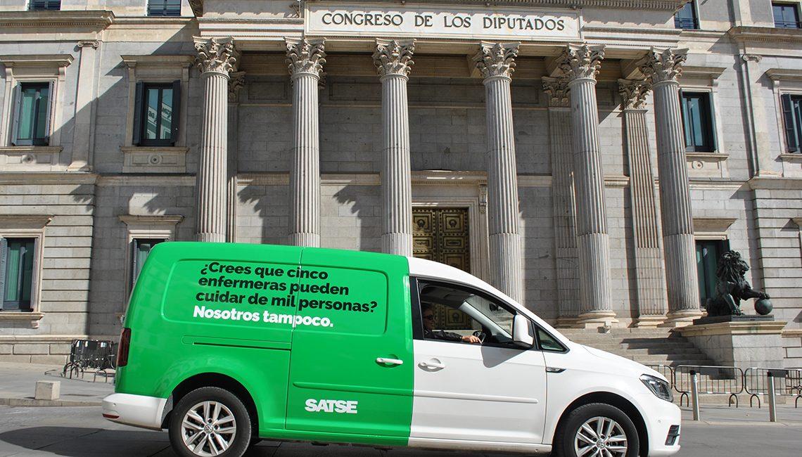 La Ley de Seguridad del Paciente de SATSE entra en el Congreso de los Diputados