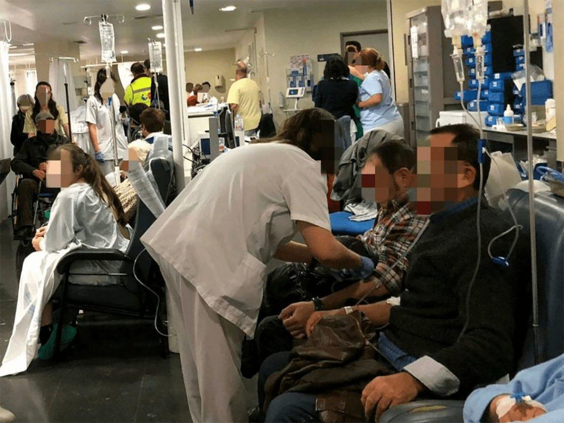 SATSE reclama más enfermeras para que la gripe no genere desatención, colapsos y caos en los centros