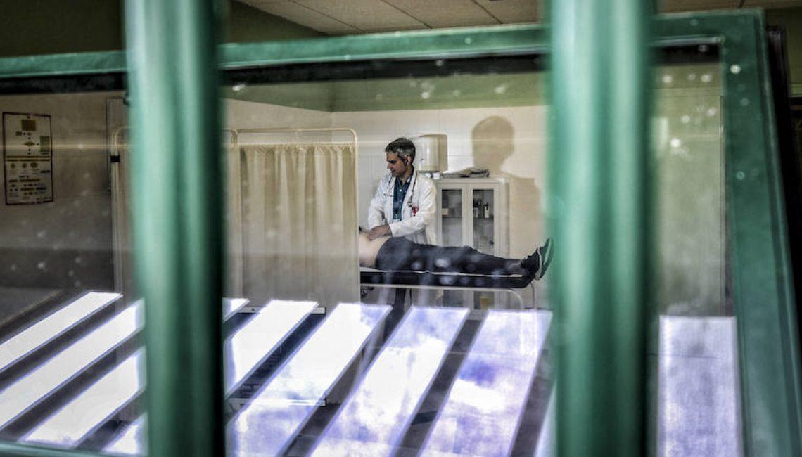 Enfermería en las prisiones