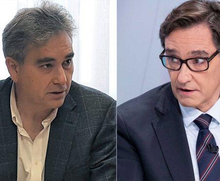 Reunión de Manuel Cascos y Salvador Illa