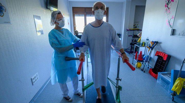 Los fisioterapeutas están absolutamente desbordados para tratar a los pacientes COVID 19