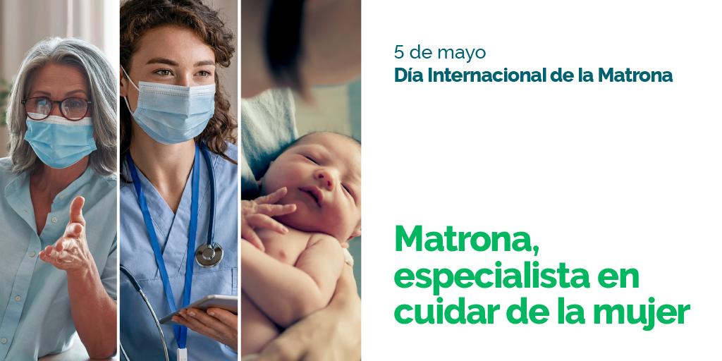 Matrona, especialista en cuidar a la mujer