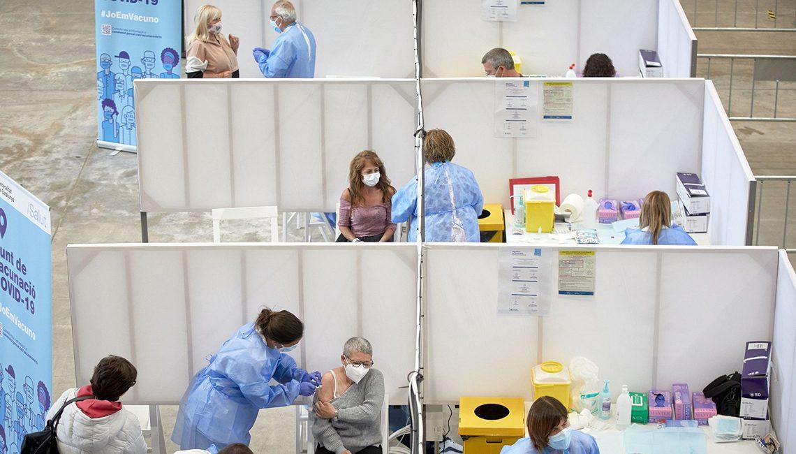 Es vital la seguridad para la vacunación en grandes recintos