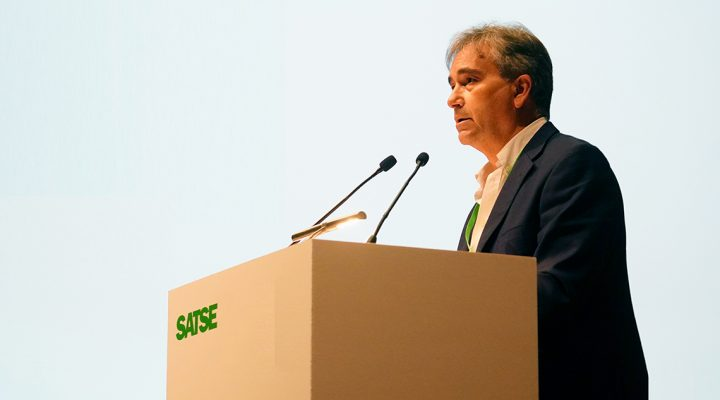Manuel Cascos, reelegido presidente de SATSE