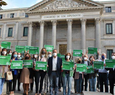 SATSE acude al Congreso para denunciar cómo gobiernos y partidos dan la espalda a la Sanidad Publica y a sus profesionales